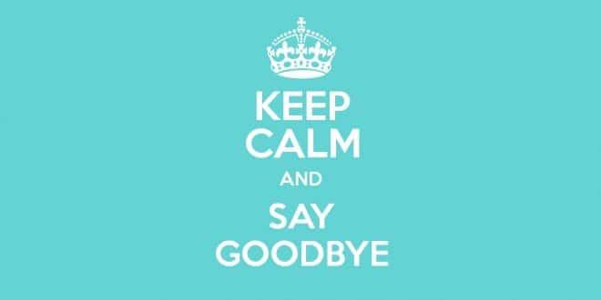 good bye adieu
