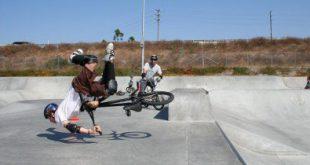 chute BMX
